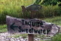 INQUIRE SWEETWATER SIGN