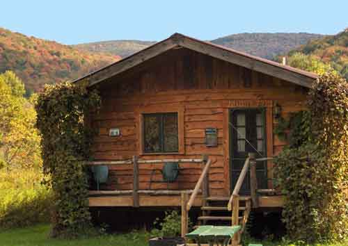 rentals deer cabins campgrounds rental cabin abdeerrun york run ny dr bound rustic in new adventure camping