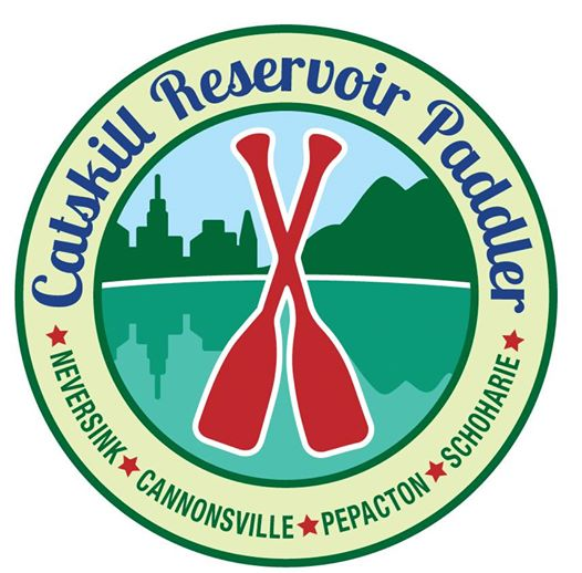 Catskill Reservoir Paddler Patch